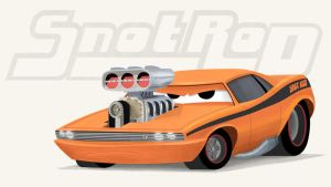 Cars - Snot Rod by riddsorensen