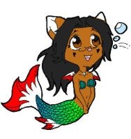 Shalone Katt Mermaid - colored by dawny