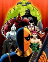 Deathstroke's Army by MacAddict17