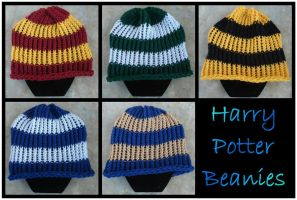 Harry Potter Beanies by RebelATS
