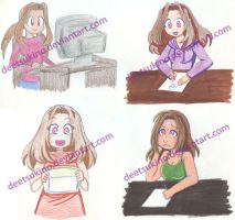graphic diary - styles by DeeTsukino