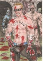 johnny cage by DesertoMental
