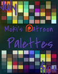 July Patreon Palettes by Mokisaur