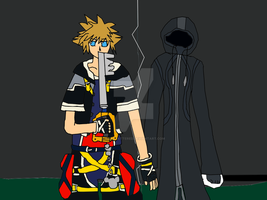 Sora and ???? by Dan-Shattered-Heart