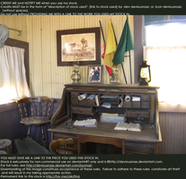 Victorian Writing Office Stock 2 by DeviousRose