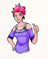 Happy Tonks by laerry