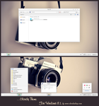 Cloudy Mac Theme For Windows 8.1 by cu88