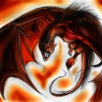 Red dragon by Mordred-87