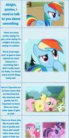 A Word From Rainbow Dash by grampagort