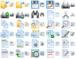 Perfect Office Icons by mikeconnor7