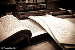 Old books and papers by skuggsida