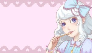 Lolitapop card: Sweet side by silentillusion