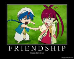 Magi:TloM~ Friendship by XxCelestialWolfxX