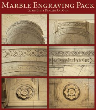 Marble Engravings HDR Pack by Lizzie-Bitty