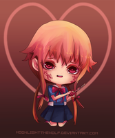 Chibi Yuno by MoonlightTheWolf