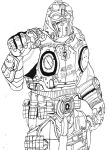 Gears of war Clayton Carmine by The-Silver-Spartan
