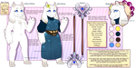 [Design] Trade : Undertale OC : Ethel Elwind by Solar-Paragon