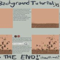 Fall Background Tutorial by WildDragonsLuvBacon