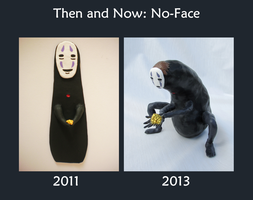 Then and Now: No-Face by Figren