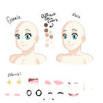 Male / Female headshot base by TheUnknownlover