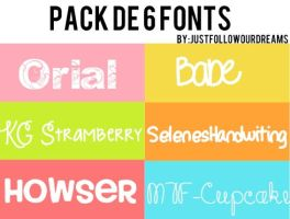 +Pack de Fonts by RosiEditions
