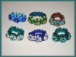 3 flowers ring by jasmin7