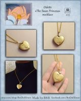 Odette - The Swan Princess - Necklace by Rei-Doll
