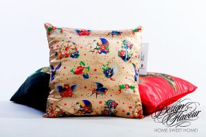 Old school pillow by DZNFlavour