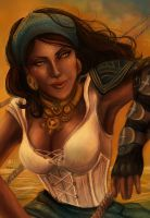 Isabela - (Dragon Age) by YoungGirlBlues
