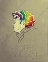 Poster: Propagandism by angelaacevedo