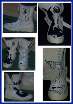 Avatar Boots - Water Tribe by Caranth