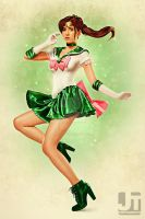 Sailor Jupiter Pinup by jaytablante