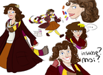 4rth Doctor GenderBend by PinkisPractical