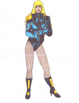 black canary by Gregpenciler