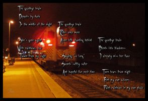 The Goodbye Train _2008-2009_ by TeaPhotography
