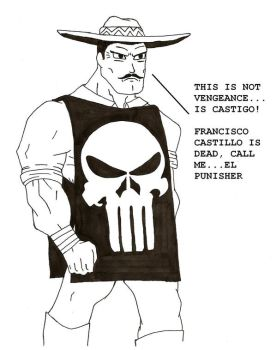 El Punisher by Azrael-Luchador