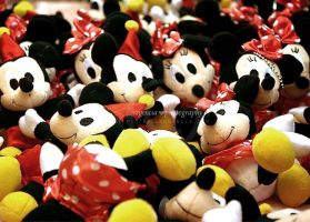 So many Mickey and Minnie by iamsell