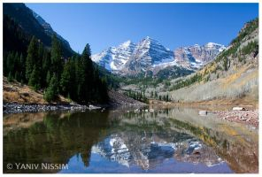Maroon Bells by ynissim