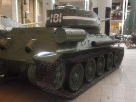 T 34 at the Imperial war museum by FFDP-Korpiklaaniguy