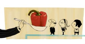 Employees' Healthy Diet by asensi