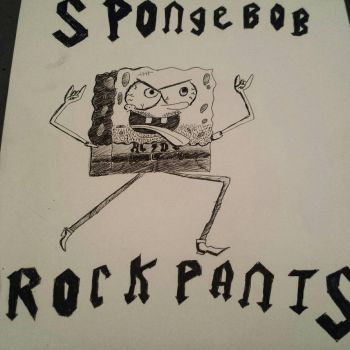 SpongeBob rockpants by silentmadness246