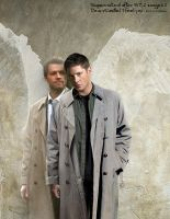 SPN S7.2 Dean-Cas 'I Feel you' synthesized pic by noji1203