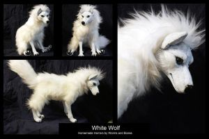 White Wolf by WormsandBones