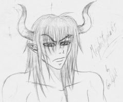 Mephistopheles, first version by Gendefekt-Impact