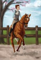 Canter Pirouette by Jag6201