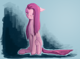 Pinkamena by ClockworkNightmare