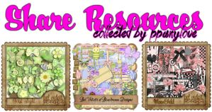 Share Resources/Scrapbooks by ppanylove