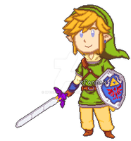 Skyward Sword Link by xFennek
