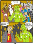 Deviant Universe Freedom War: Face-Off page 5 by backerman