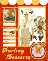 Darling Desserts - Frie Anily Fari by Kingdomkey